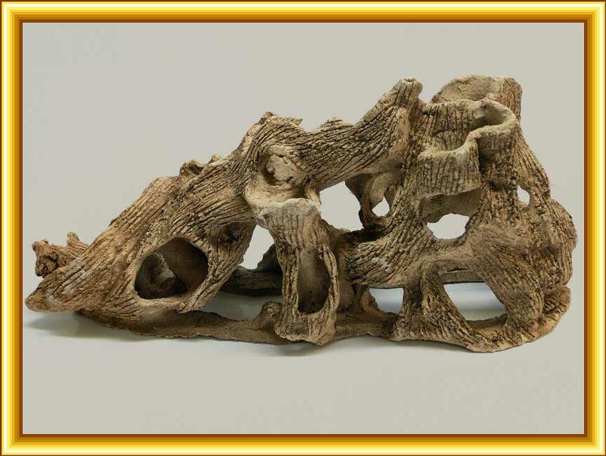 Декор из глины для аквариума