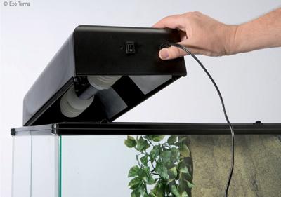 Установка светильника для террариума Exo Terra Compact Top